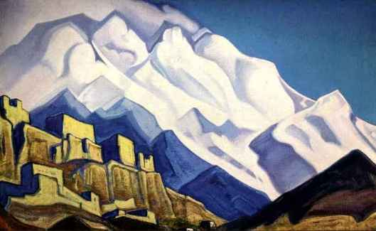 "Roerich's ""Monastery in the Mountains."""