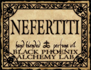 Image from http://blackphoenixalchemylab.com/shop/ars-amatoria/nefertiti/